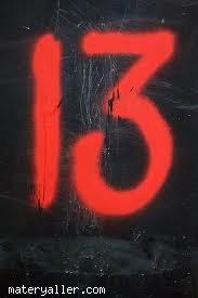 13 rakamı neden uğursuzdur?