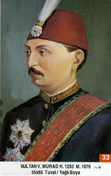 33- Beşinci Sultan Murad Han (Kısaca)