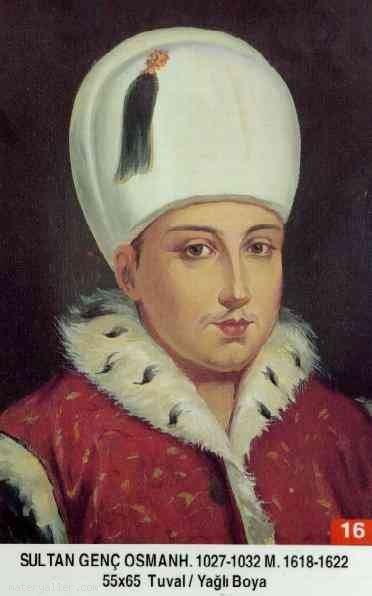 16- Sultan İkinci Osman (Kısaca)
