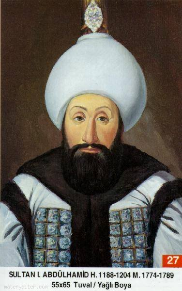 27-Sultan Birinci Abdülhamid