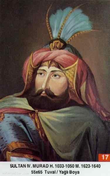 17- Sultan Dördüncü Murat Han (Kısaca)