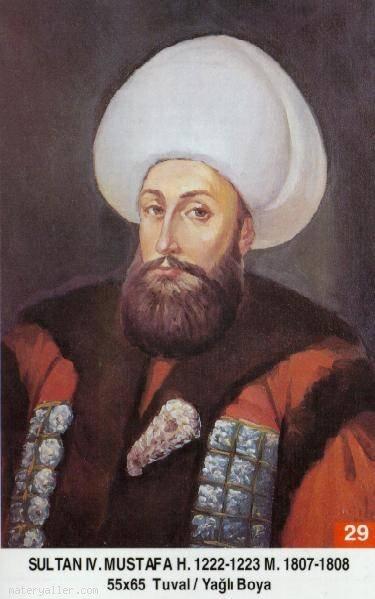 29-Sultan Dördüncü Mustafa