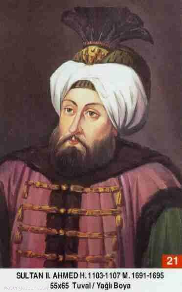 21-Sultan İkinci Ahmet