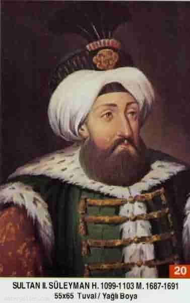 20-Sultan İkinci Süleyman