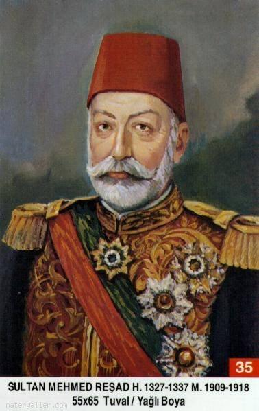 35-Sultan Mehmed Resad
