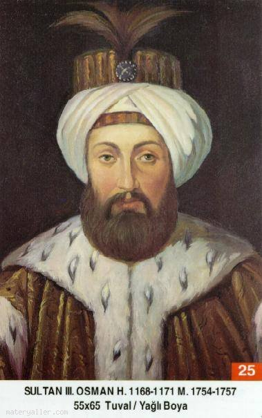 25- Sultan Üçüncü Osman Han (Kısaca)
