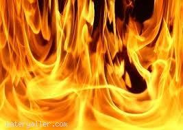 Ateş, katı değildir, sıvı değildir,gaz da değildir. O halde ateş nedir?