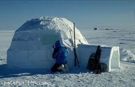 Eskimolar buzdan evlerini nasıl ısıtıyorlar?