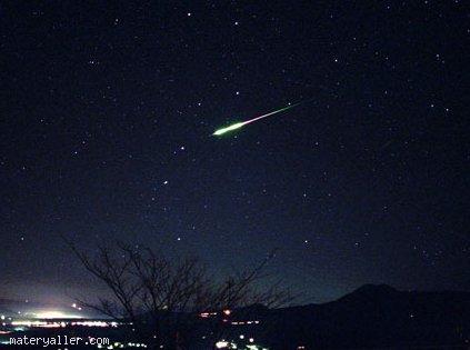 Yıldızların kaymasının nedeni nedir?
