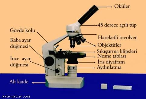 Mikroskobun Yapısını Tanıyalım
