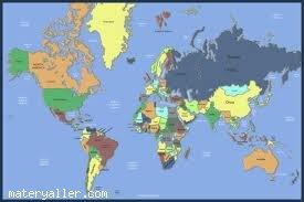 Ülkelerle ilgili ilginçlikler