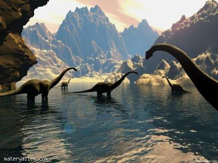 Dinozorların Yüzebildiği Kanıtlandı