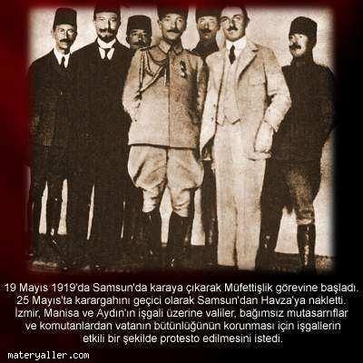 Açıklamalı Atatürk Fotoğrafı