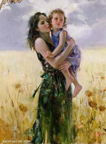 Anne çocuk resmi