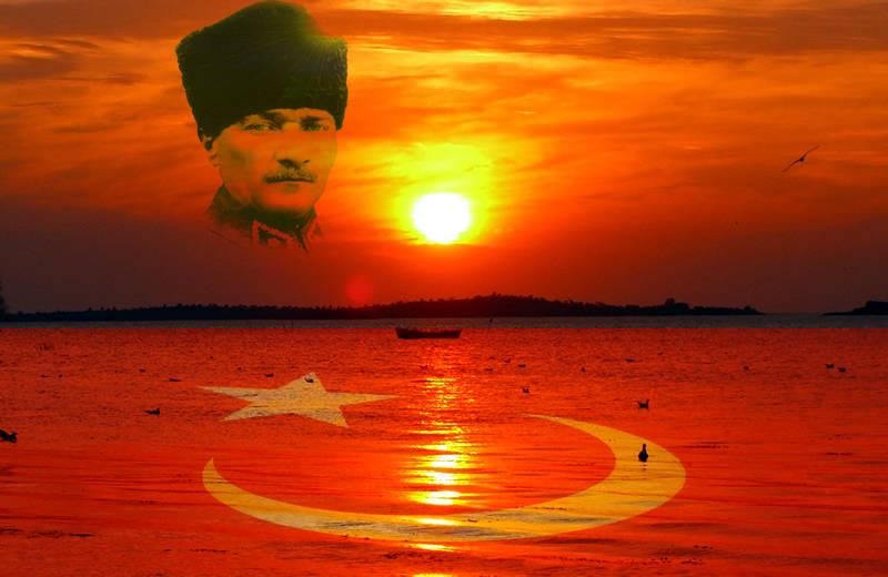 Atatürk ve Bayrak