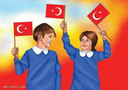 Bayraklarla 29 Ekim Cumhuriyet Bayramı