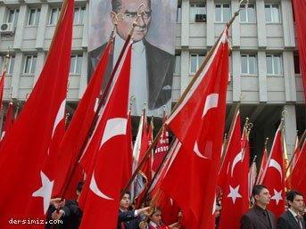 Bayraklarla Cumhuriet Bayramı