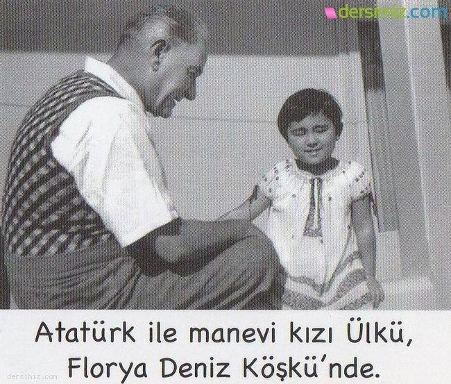 Atatürk Deniz Köşkünde