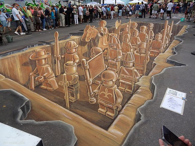 3D Sokak Resimleri