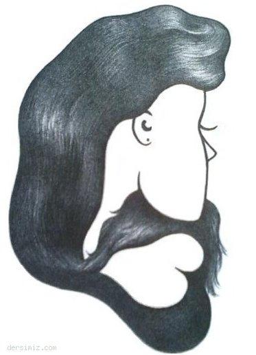 Bıyık insan mı, saçlı bayan mı?