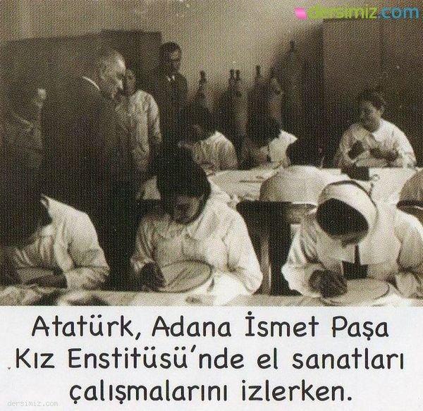 Atatürk Kız Enstitüsünde