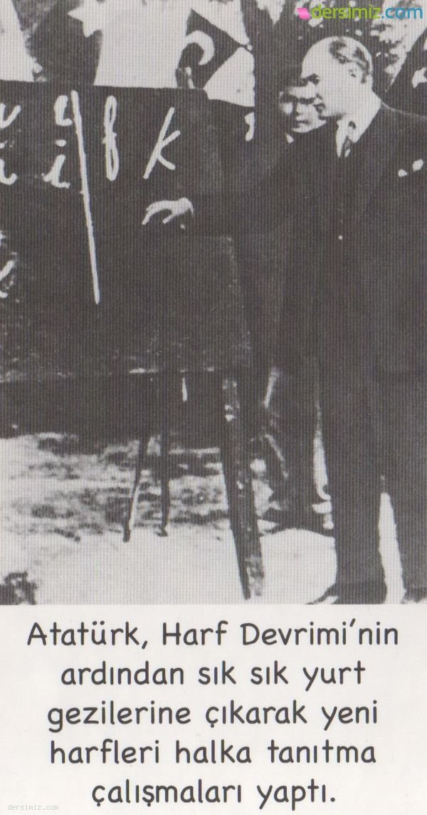 Atatürk Harfleri Tanıtıyor