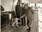Cumhurba�kan� Atat�rk, Ege Vapuru'nda k���k �lk� ile