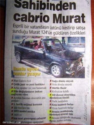 Cabrio murat