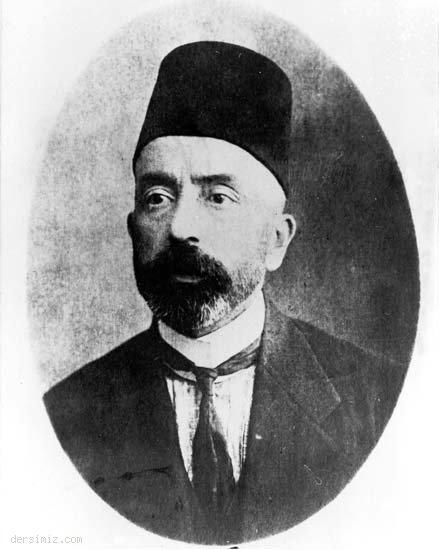Mehmed Akif Milletvekili iken