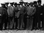 Siyah Beyaz Atat�rk Foto�raf�